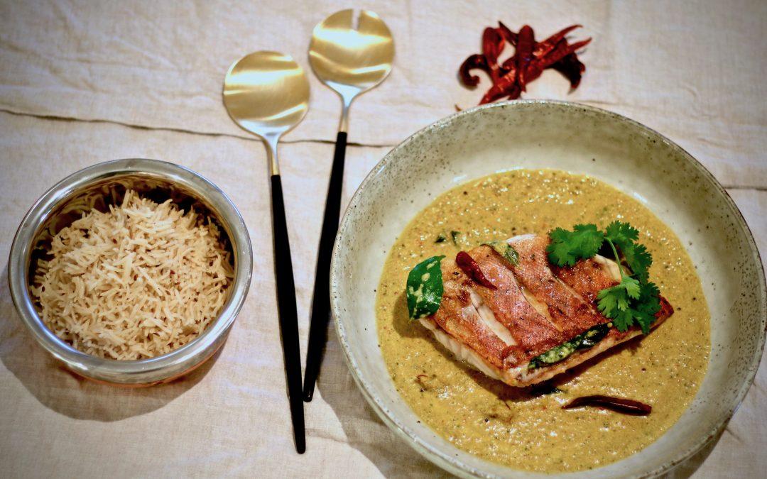 Sri Lankan Fish Curry (Serves 4)